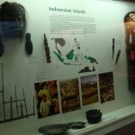 Indonesian Islands window in MSU Museum