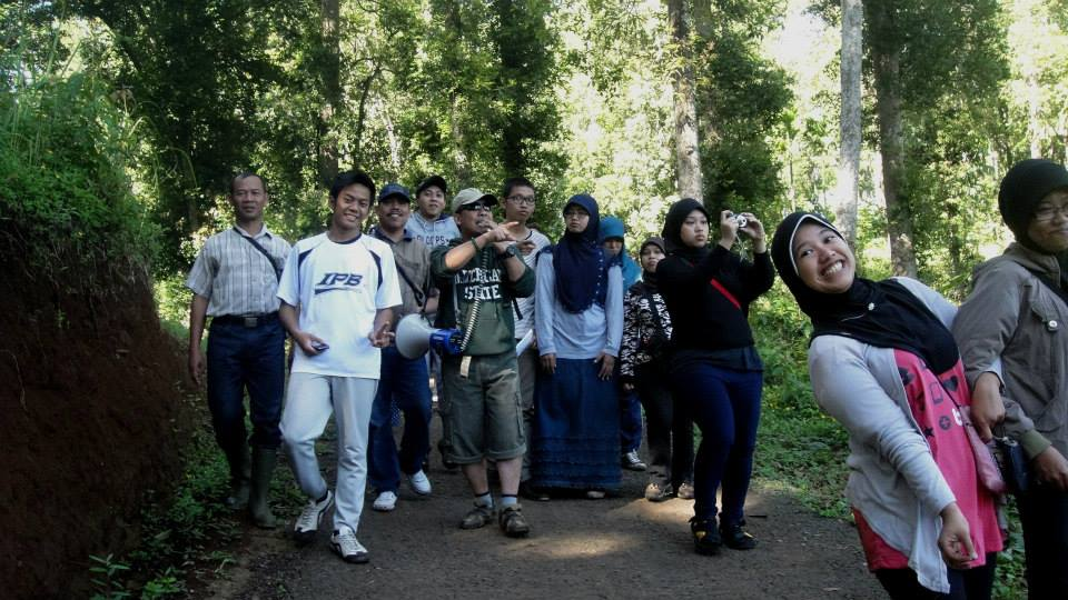 Excursion at IPB Educational Forest - Gunung Walat, Sukabumi June 2nd, 2013