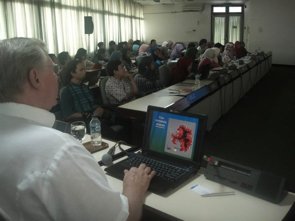 Prof. Gerhardus Schultink (MSU the US) in Studium Generale of Rural & Agricultural Landscape Course, Odd Semester of 2012/2013