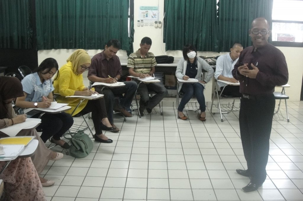 The first lecture of Fundamentals of Landscape Architecture - International Class Program in Landscape Architecture Department, Faculty of Agriculture, IPB
